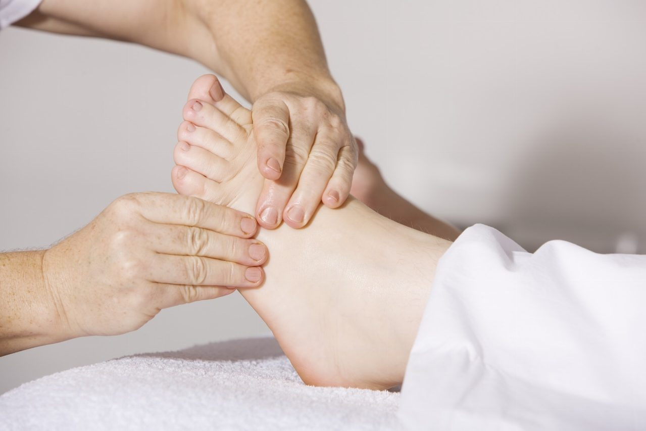 voetreflexmassage basis, sportmassage